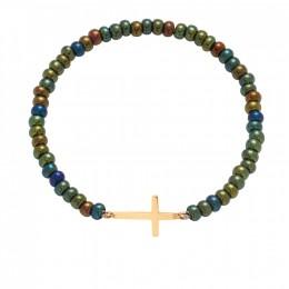 Bracelet Camille, plaqué or