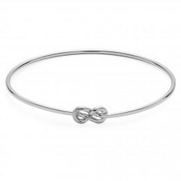 Le bracelet issu de la collection Eternity en argent