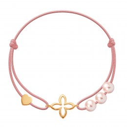 Bracelet Clara plaqué or
