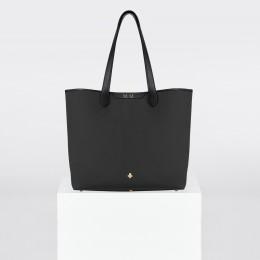 Sac Shopper, toile noire