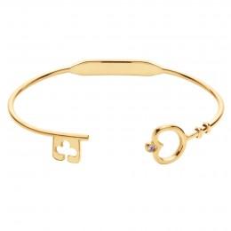 Bracelet Secret plaqué or