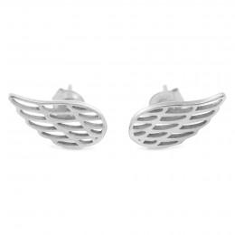 Boucles d'oreilles aile en argent