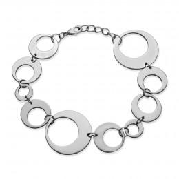Bracelet argenté Lune