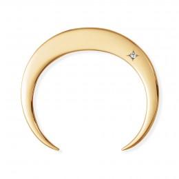Bracelet Lune plaqué or