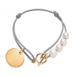 Bracelet Madeleine plaqué or