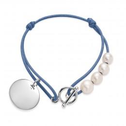 Bracelet Madeleine en argent