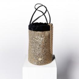Mini sac Maia, doré