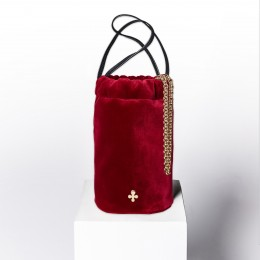Mini sac Maia, rouge pourpre