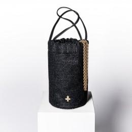 Mini sac Maia, noir-graphite