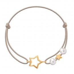Bracelet Mia plaqué or