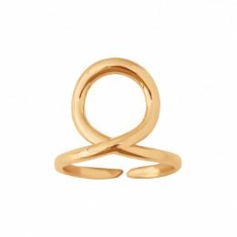 Bague Vierge, plaqué or