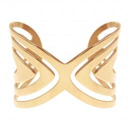 Bracelet Paon plaqué or