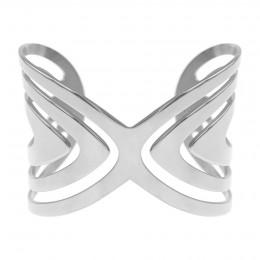 Bracelet Paon en acier