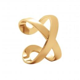 Bague Infinity plaquée or
