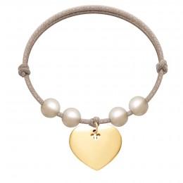 Bracelet Love plaqué or