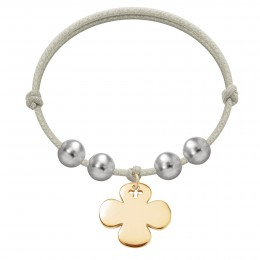 Bracelet Luck plaqué or