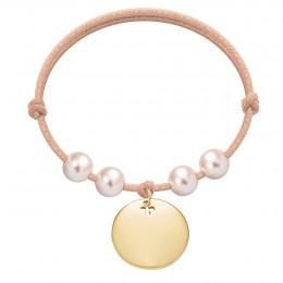 Bracelet Harmony plaqué or