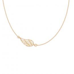 Collier avec une aile ajourée en or585
