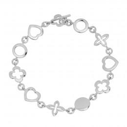 """Bracelet """"Les Trésors de Lilou"""" en argent"""