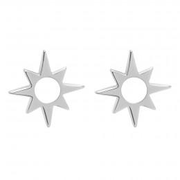 Boucles d'oreilles Star ajourées argent