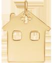 Maison, plaqué or