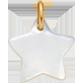 Étoile en nacre de 1,5 cm, PO