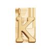 Lettre K plaqué or