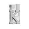Lettre K plaqué argent