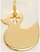 Petit canard doré 1,5 cm