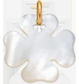 Trèfle en nacre de 2,7 cm, PO