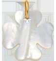Trèfle en nacre de 2 cm, PO