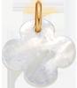 Trèfle rond en nacre de 1,5 cm, PO