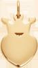 Couronne King de 1,5 cm plaquée or