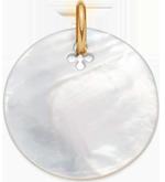 Médaille en nacre de 2,7 cm PO