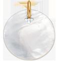 Médaille en nacre de 2 cm,PO