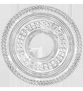 Etno, 3,1 cm, plaqué argent