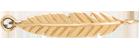 une plume pour la main en or585