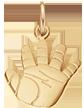 Talisman de Naissance plaqué or